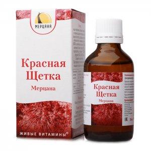 Красная щетка настойка (50 мл) Для женского здоровья Товары для здоровья и комфорта г.Ярославль 17/049 - Для женского здоровья -